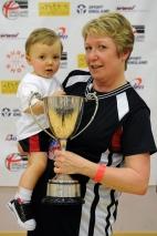 Winning trophies with Nana