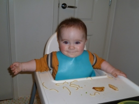 Baby Led Weaning - Trying lots of foods!