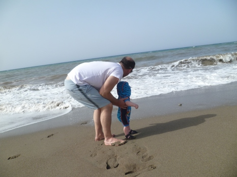 First holiday abroad - Sunny Cyprus